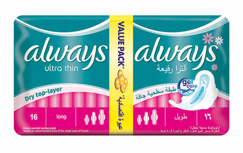 ALWAYS ULTRA THIN DUO PACK