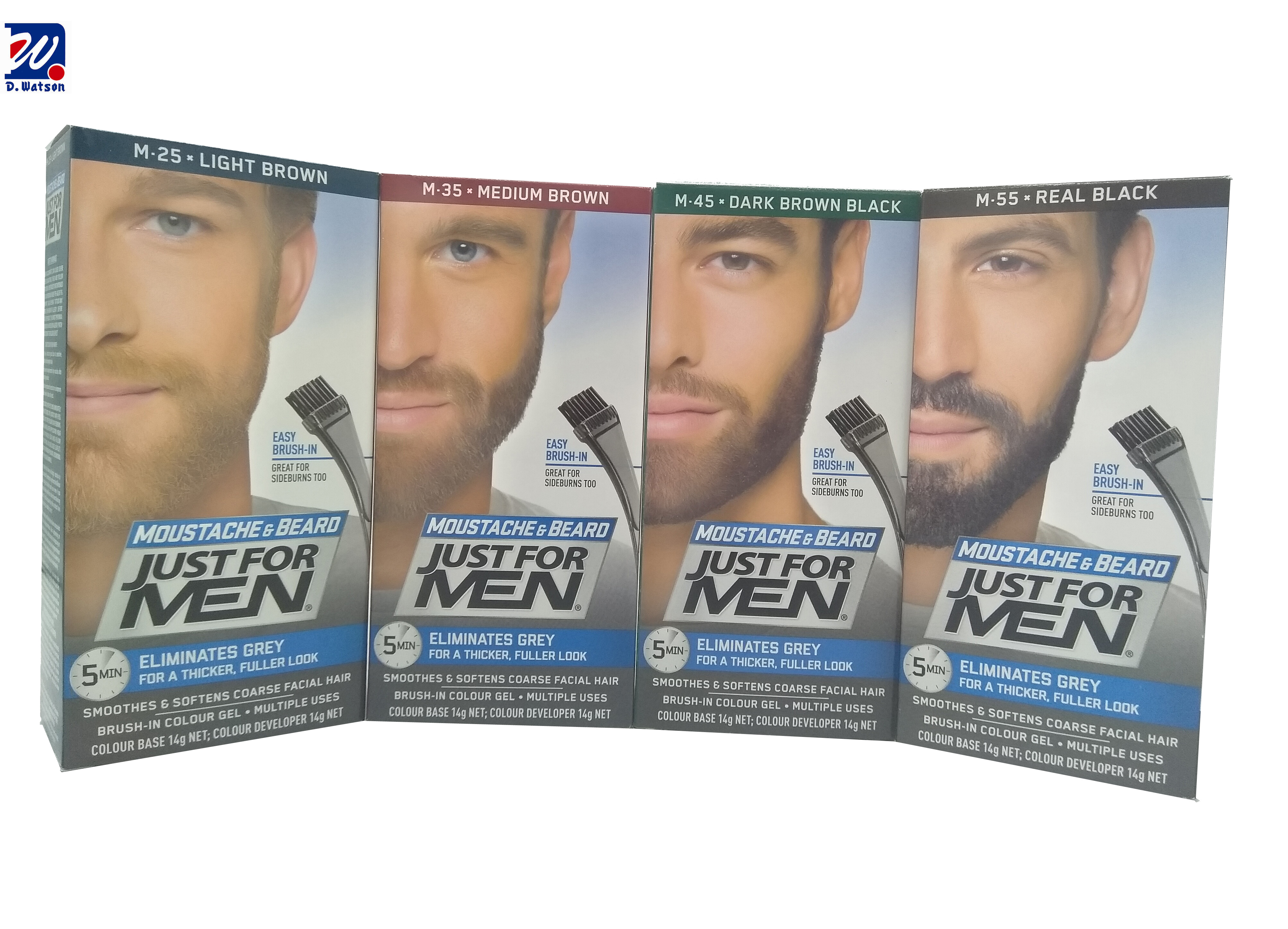 JUST FOR MEN BEARD COLOR