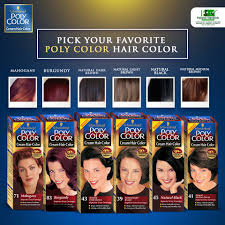 Poly Color Cream Hair Color