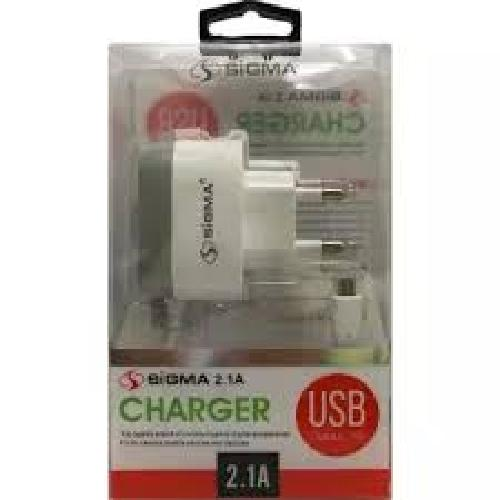 SIGMA 2.1-A USB CHARGER S10
