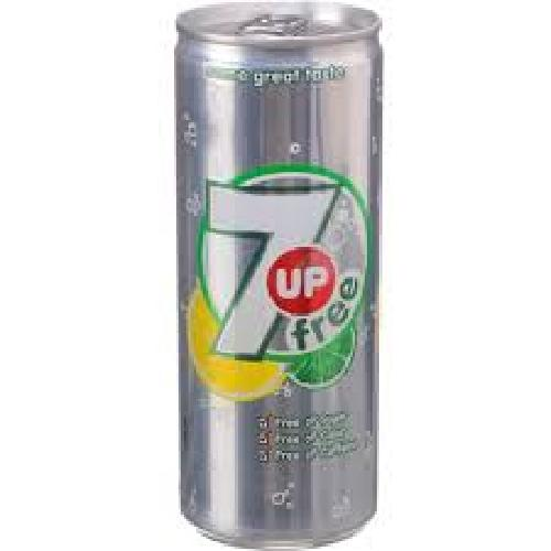 7UP SUGAR-FREE COLD DRINK CAN