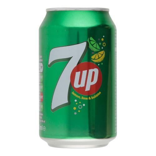7UP COLD DRINK CAN