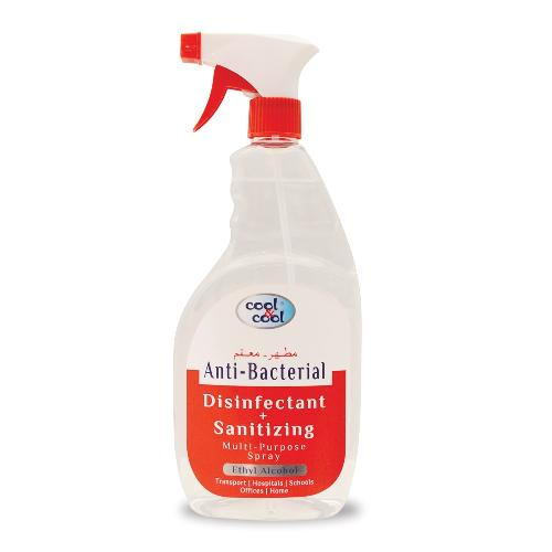 COOL & COOL ANTI BACTERIAL (DISINFECTANT + SANITIZING)